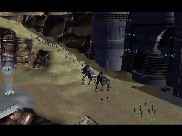 Invasion of Utapau and CIS counter attack