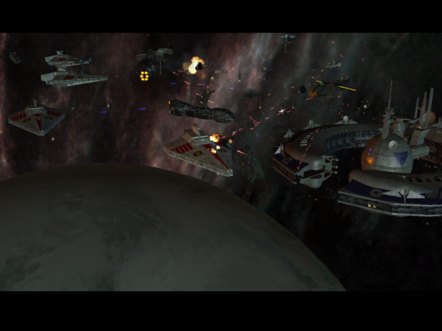 Space battle from version4