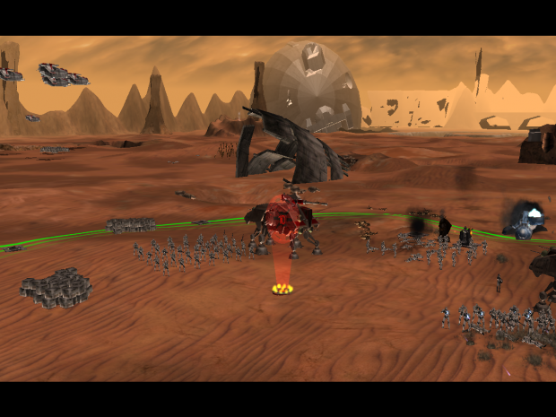 Geonosis is coming along nicely