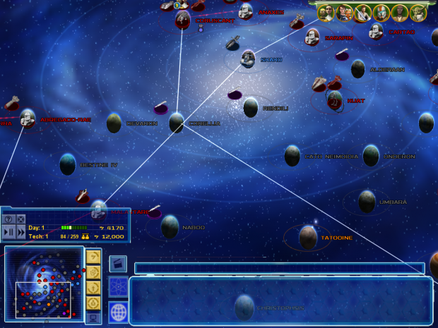 Planets coded, awaiting the maps