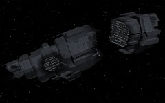 UNSC Cruiser destroyed