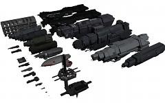 UNSC ship line up