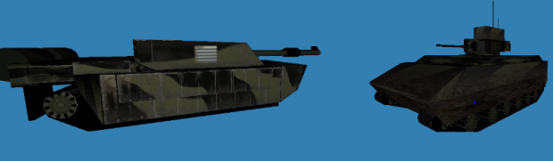 Challenger 2 and Bradley