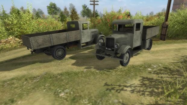 Polish Fiat 621 Army Truck.