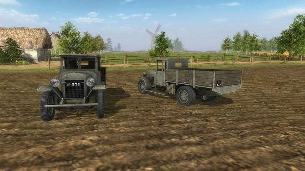 Polish Ursus A Supply Truck