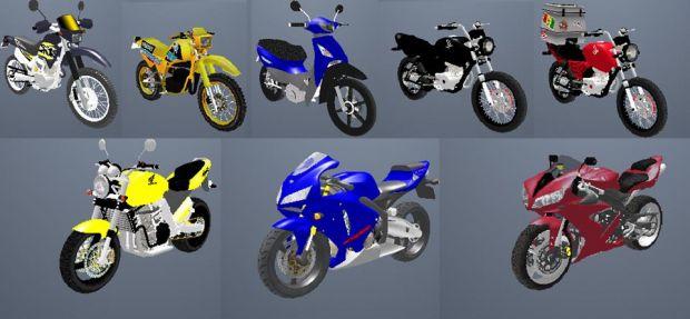 Bikes image - GTA BR mod for Grand Theft Auto: San Andreas