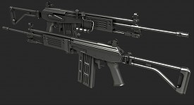 IMI Galil high poly