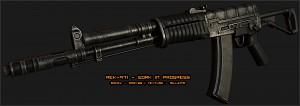 AEK-971 texturing