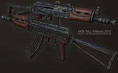 AKS-74U finished