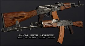 AK-74 finished