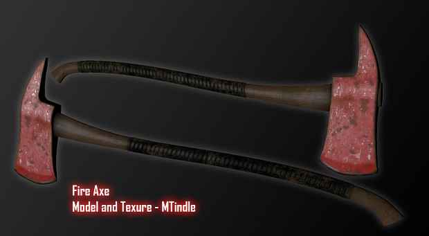 Fire Axe - Texture finished
