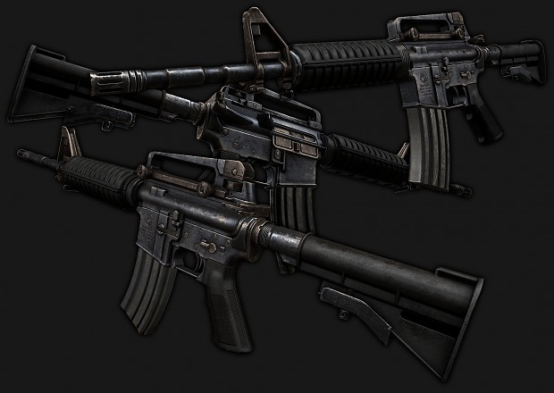 M4A1 textured