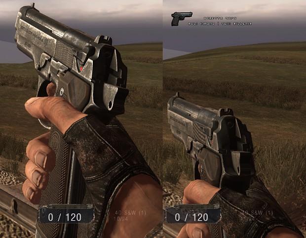 Beretta 92FS, ingame