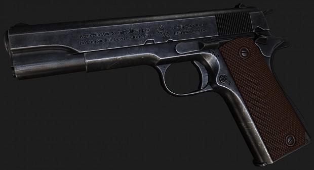 1911 texturing