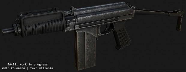 9A-91, texturing