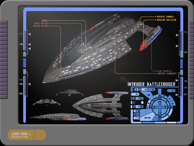 Federation Intruder Class Image Future Wars Tactical