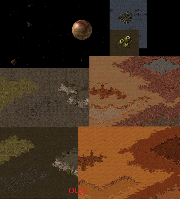 New terrain and space