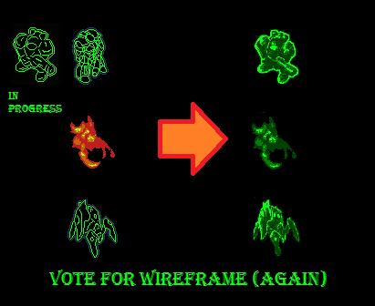 New wireframe style (vote)