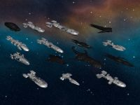 Starship Troopers Ships....