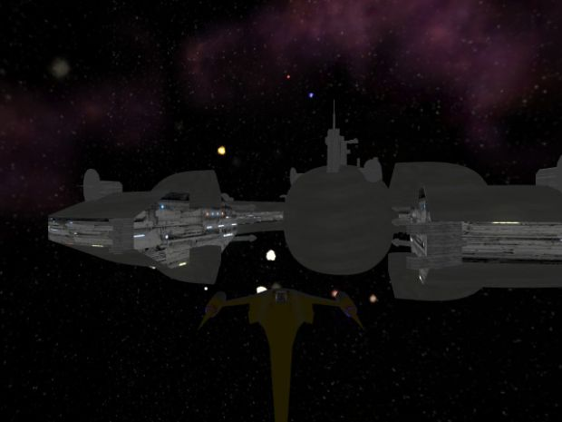 The Trade Federation Ship