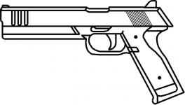 Pistol Sketch