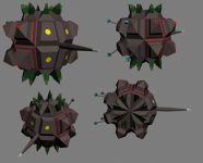 Dynamic traps renders