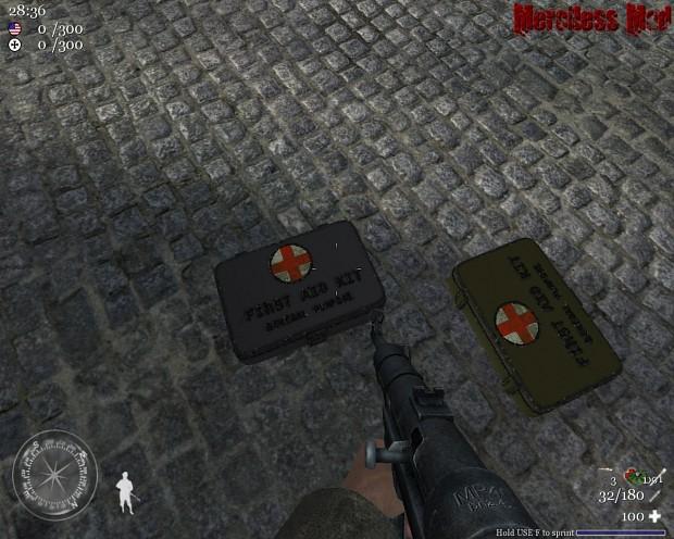 MedKits In-game