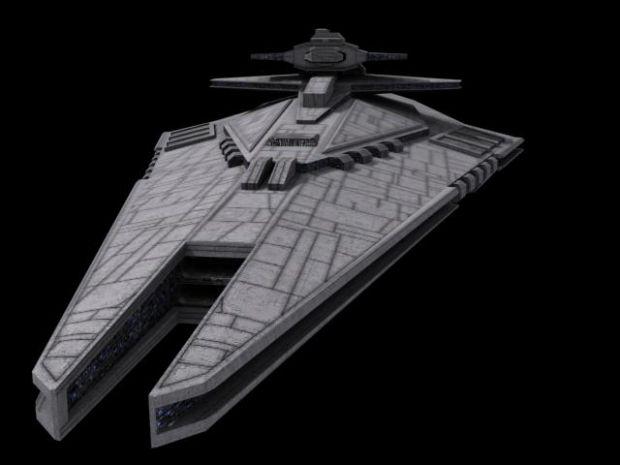 finished sith destroyer  battlecruiser  image