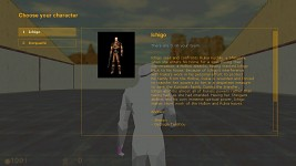 Character Selection Viewport