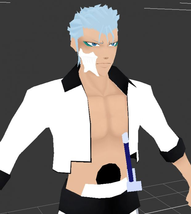 Grimmjow new hair