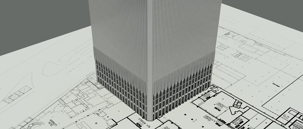 Redoing WTC in 3D Studio Max for UDK
