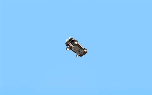 Flying Delorean