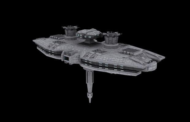 Republic Golan-class Battlestation
