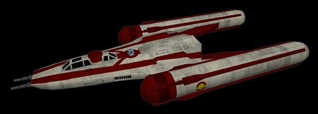 Y-wing Re-texture