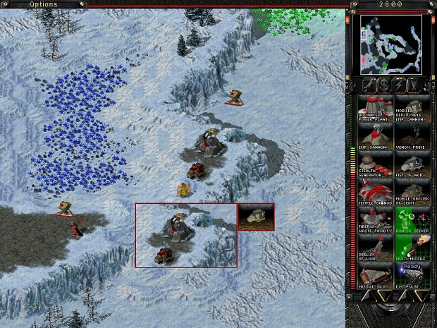 Tiberium Tale: Evolution mod for C&C: Tiberian Sun Firestorm