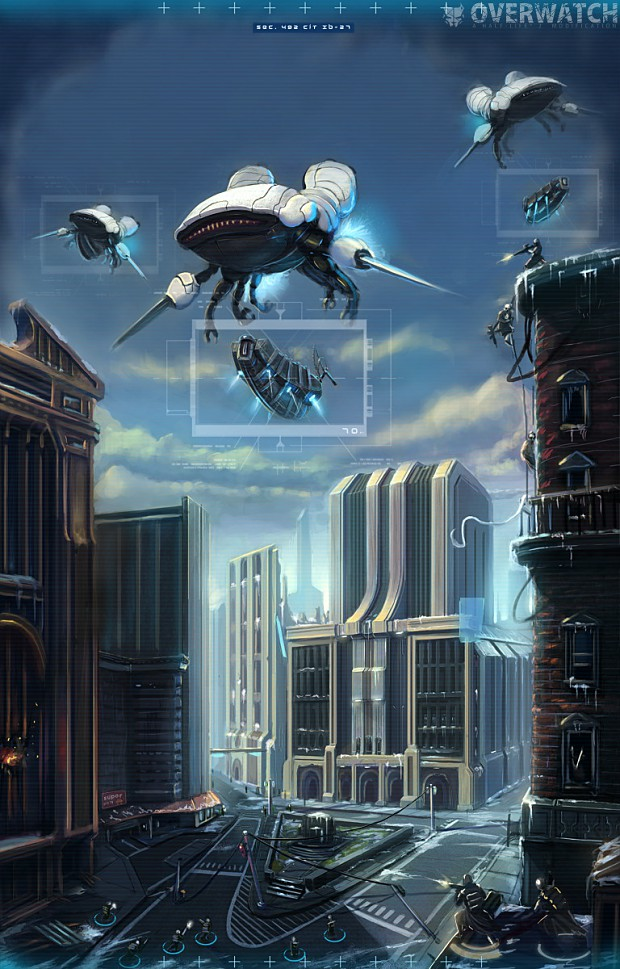 Overwatch Concept/Promotional Art