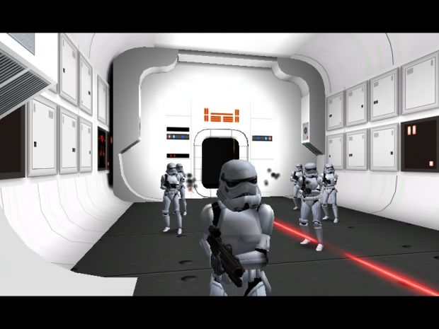 Assault On Tantive IV - A New Hope