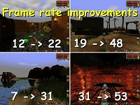 Framerate improvements