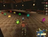 Exhibiton of items, hall of spells & mana