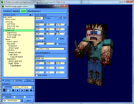 IqeBrowser V2.16 model creator, minecraft player