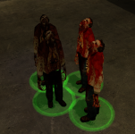 Running Zombies (place holders)