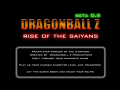 Wc3 - DBZ : Rise Of The Saiyans