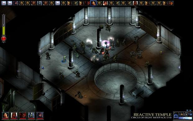 Reactive Temple: Air