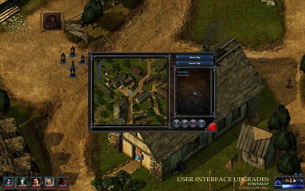 User Interface Upgrades - Townmap