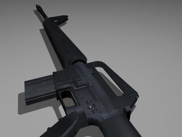 M16 Detailed Model