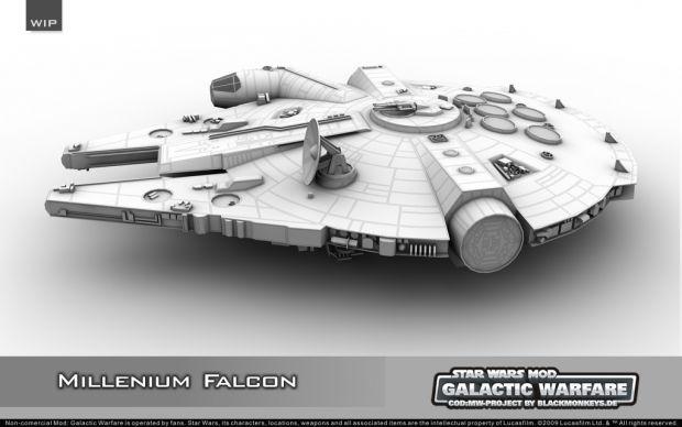 W.I.P.: Millenium Falcon