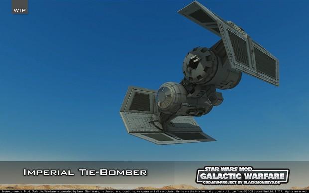 Imperial Tie Bomber