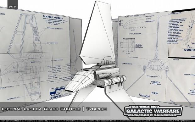 "Imperial Lambda Class Shuttle ""Tydirium"""