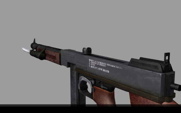 Thompson Model (Textured) - Side View