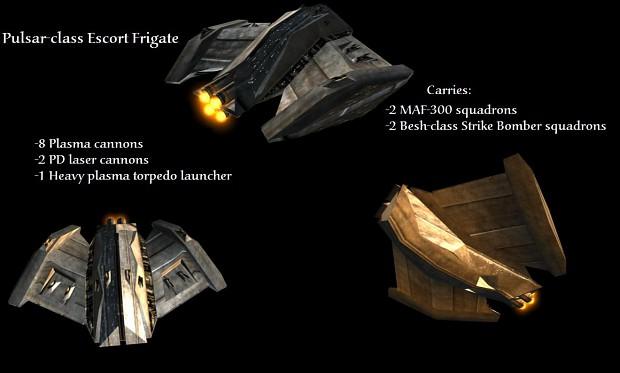 Pulsar-class Escort Frigate